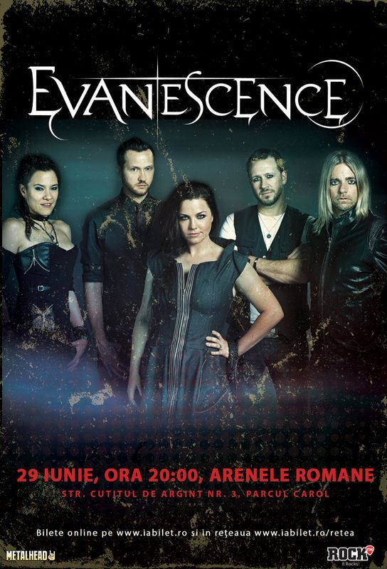 Evanescence la Arenele Romane