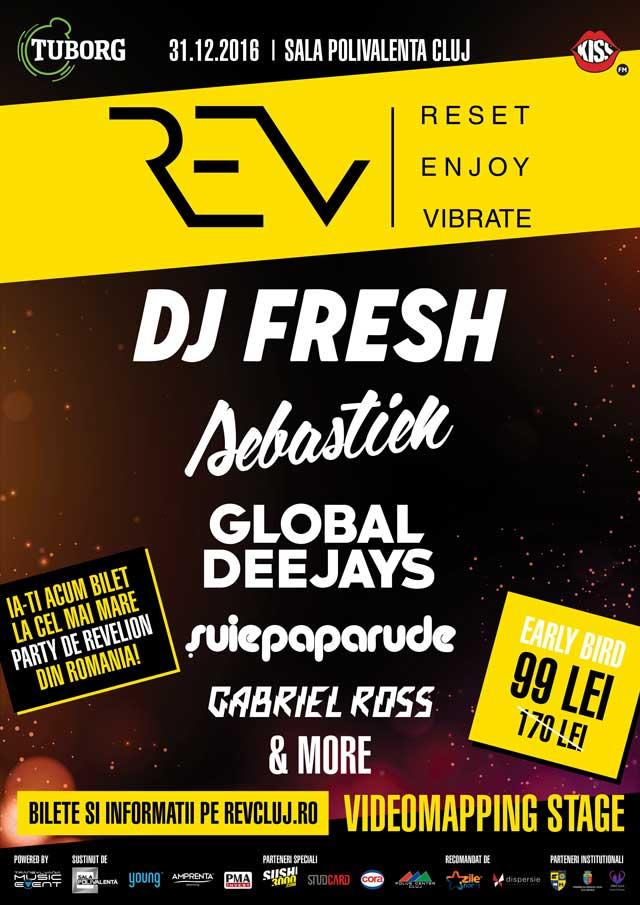 Rev Cluj la BT Arena (Sala Polivalentă) Cluj-Napoca