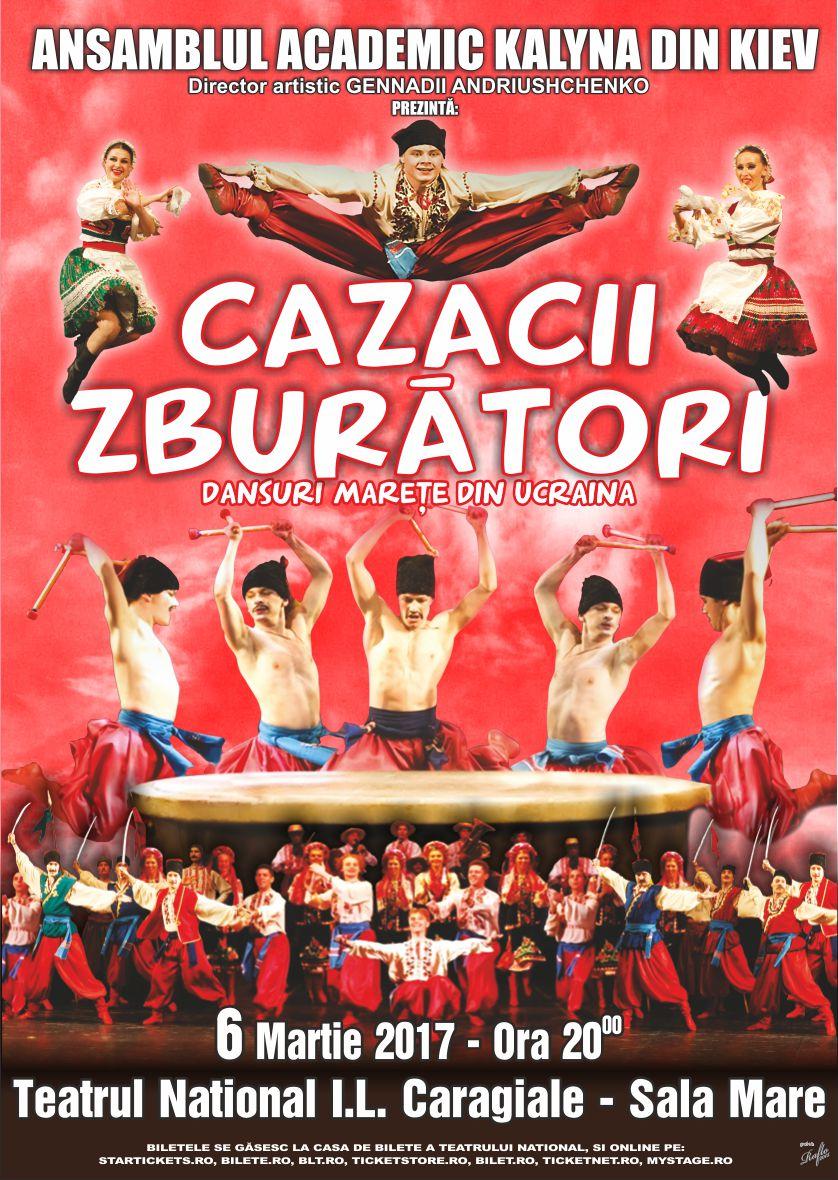 Cazacii Zburători la Teatrul Naţional București