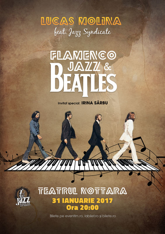 Beatles Flamenco Jazz la Teatrul Nottara