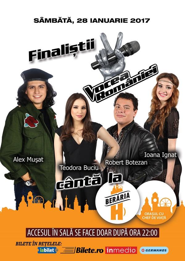 Finaliștii Vocea României