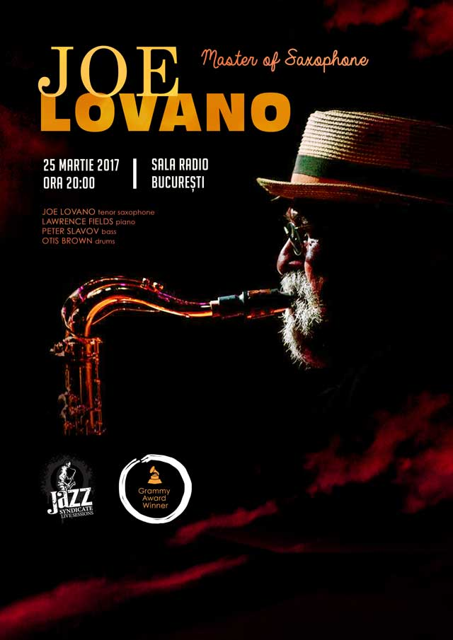 Joe Lovano la Sala Radio