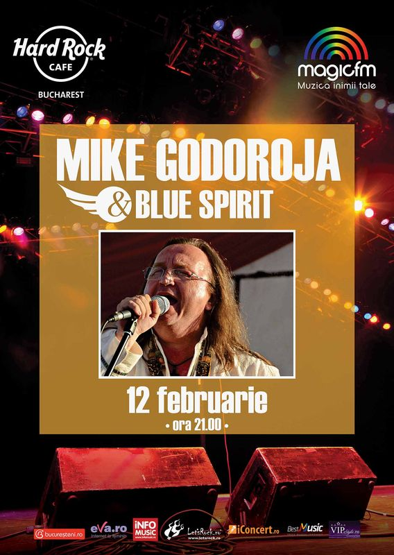 Mike Godoroja & Blue Spirits la Hard Rock Cafe