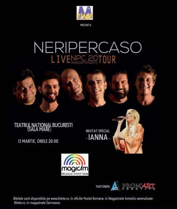Neri Per Caso la Teatrul Naţional București