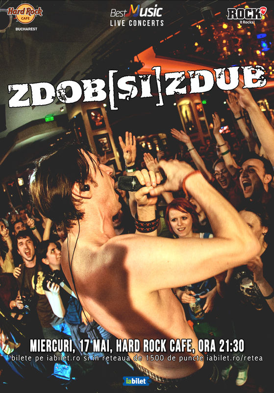 ANULAT - Zdob și Zdub la Hard Rock Cafe