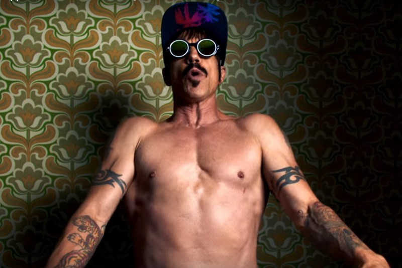 Anthony Kiedis, solistul Red Hot Chili Peppers