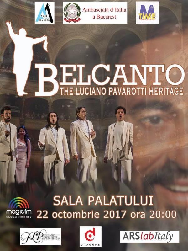 Belcanto - The Luciano Pavarotti Heritage la Sala Palatului