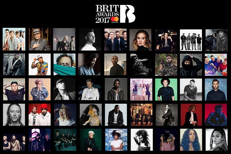 Nominalizările BRIT Awards 2017