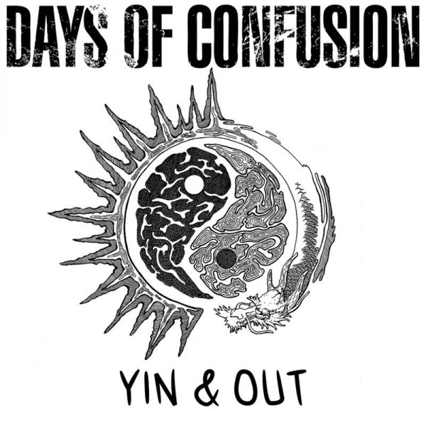 "Days of Confusion - ""Yin & Out"" (copertă album)"