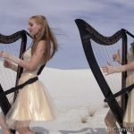 Videoclip cover Metallica Enter Sandman Harp Twins