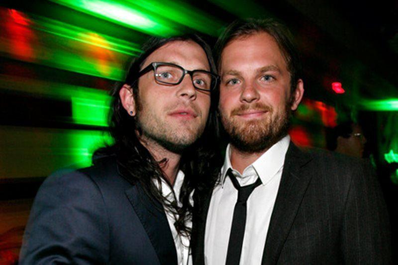 Nathan și Caleb Followill de la Kings of Leon