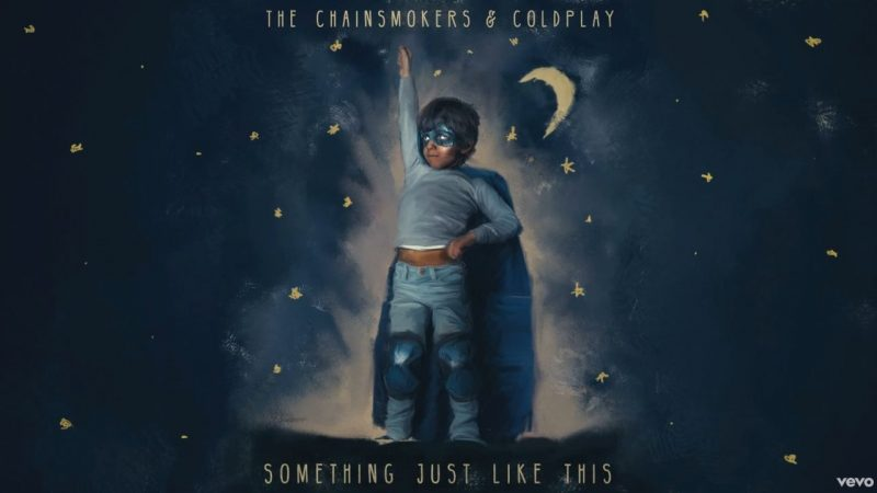 Coperta single Coldplay Chainsmokers Something Just Like This