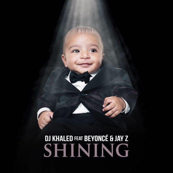 Coperta single DJ Khaled Beyonce Jay Z Shining