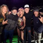 Lady Gaga Metallica poza de grup Grammy 2017