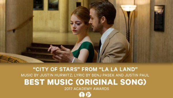 Premiu Oscar La La Land cea mai buna melodie originala