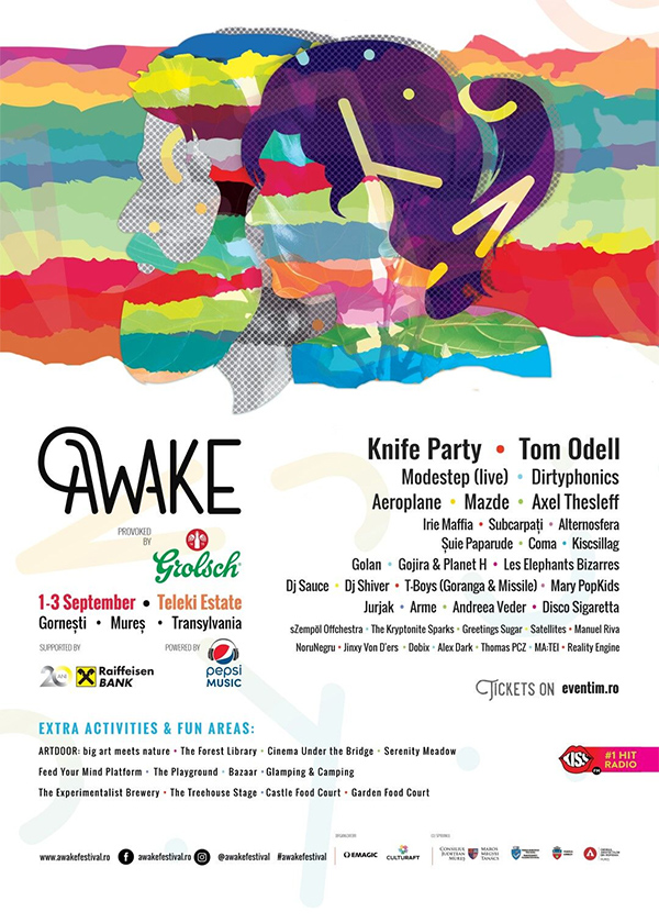AWAKE Festival la Domeniul Teleki