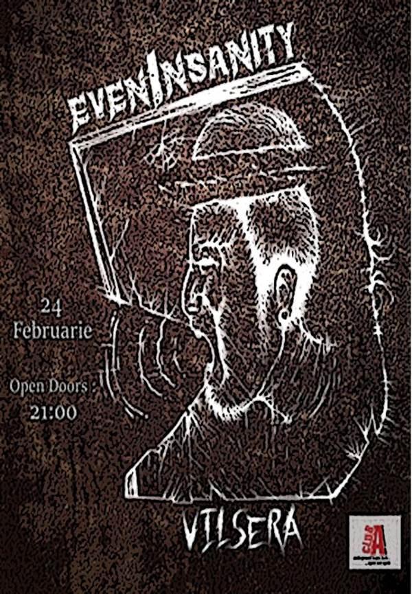 Concert evenInsanity și Vilsera la Club A