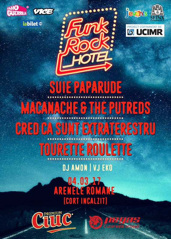 Funk Rock Hotel la Arenele Romane