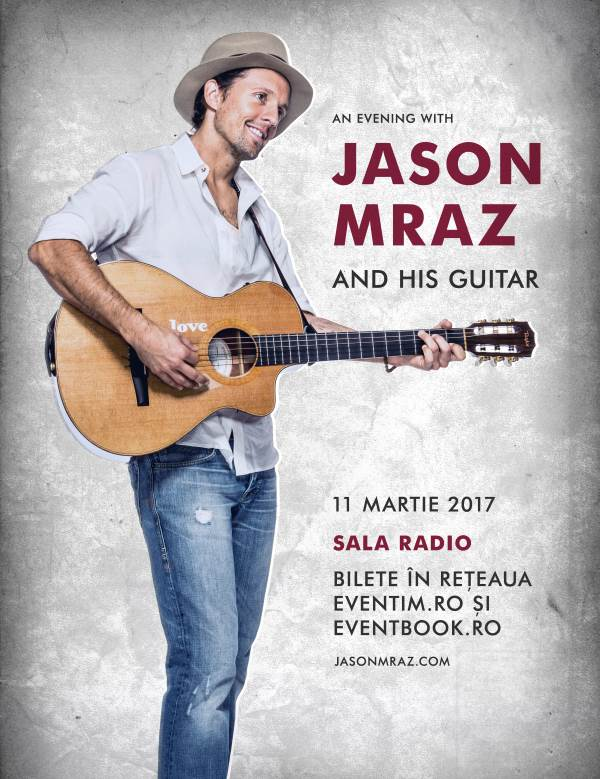 Jason Mraz - SOLD OUT la Sala Radio
