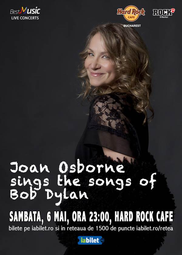 Joan Osborne la Hard Rock Cafe