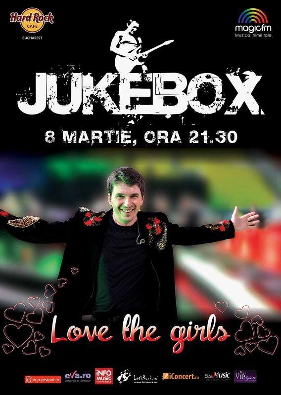 """Jukebox - """"Love the Girls"""" la Hard Rock Cafe"""