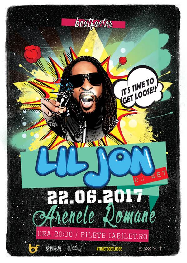 Lil Jon la Arenele Romane