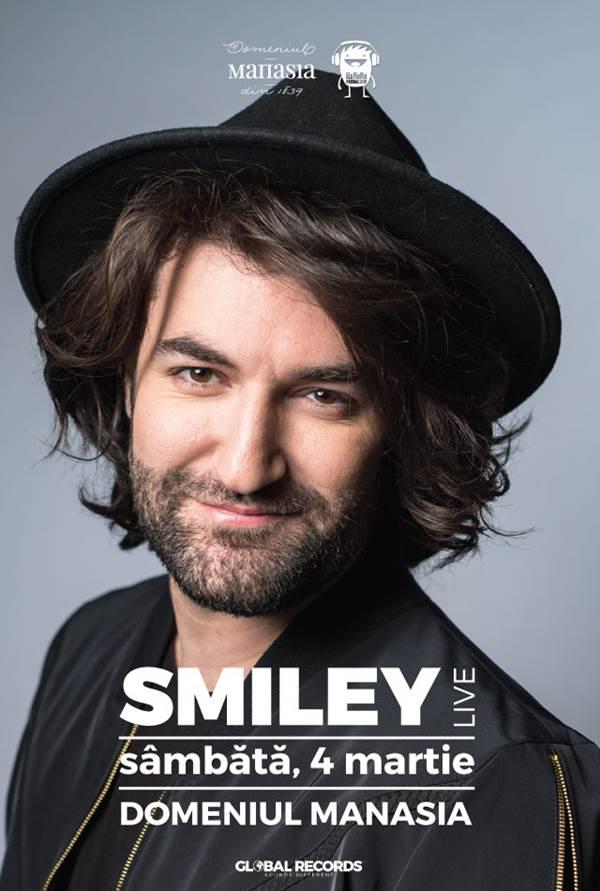 Smiley la Domeniul Manasia
