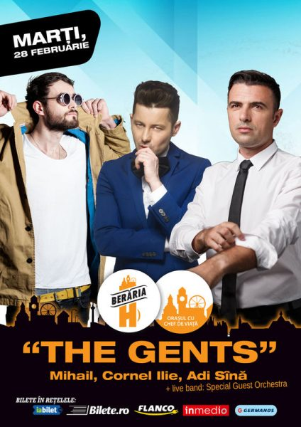 Poster eveniment The Gents