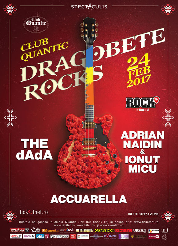 Dragobete Rocks la Quantic Club