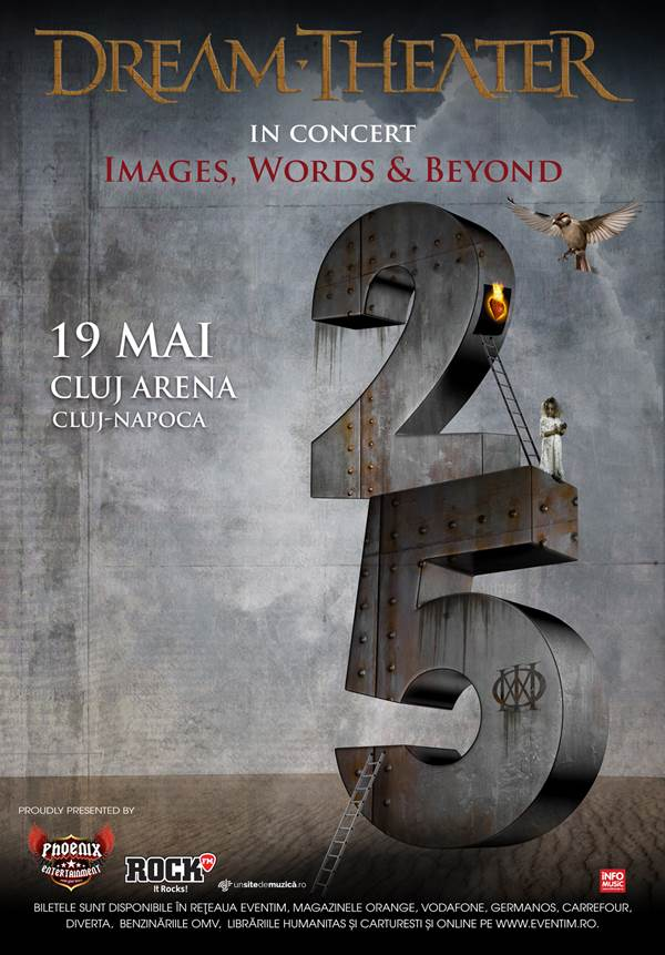 Dream Theater la Cluj Arena