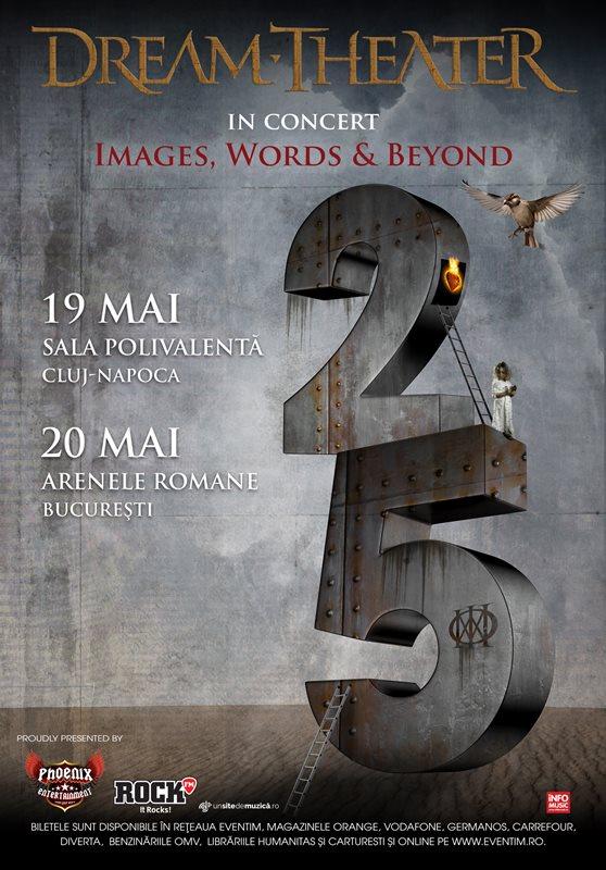 Dream Theater la Arenele Romane