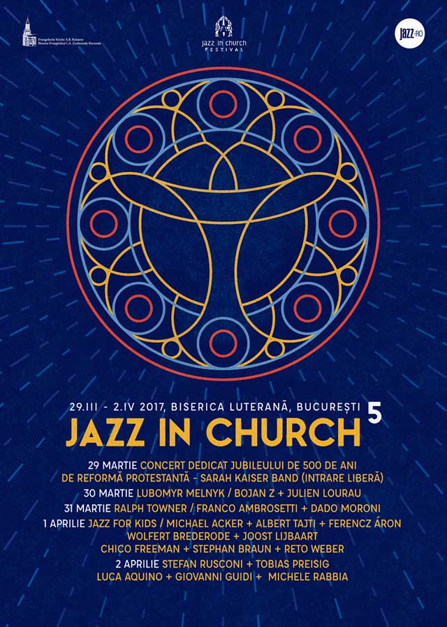 Jazz in Church Festival 2017 la Biserica Luterană