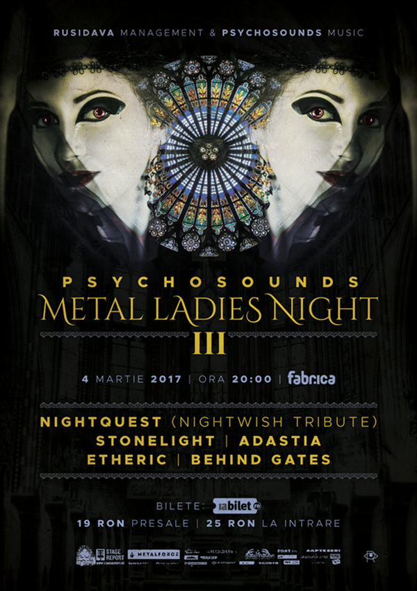 Psychosounds Metal Ladies Night la Fabrica
