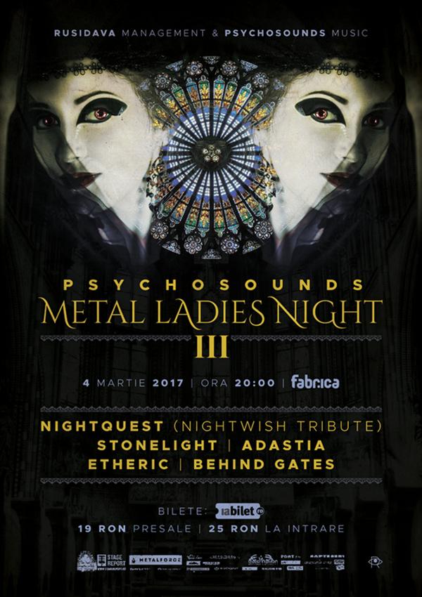 Psychosounds Metal Ladies Night