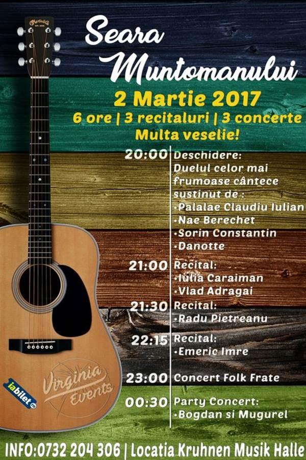 Seara Muntomanului la Kruhnen Musik Halle