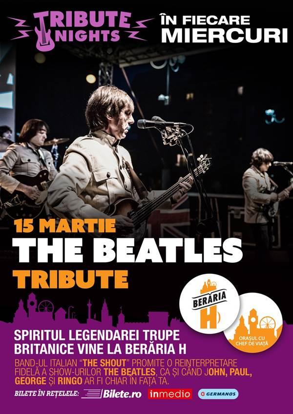 The Shout - Beatles Tribute la Berăria H