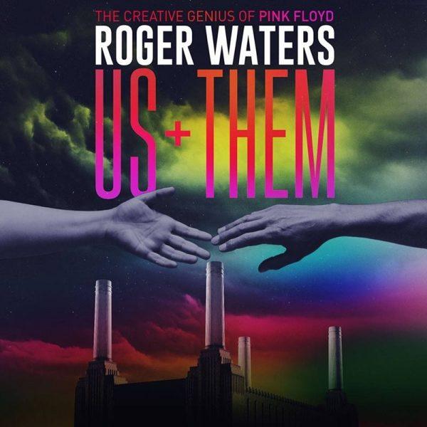 "Afișul noului show Roger Waters ""US + THEM"", 2017"