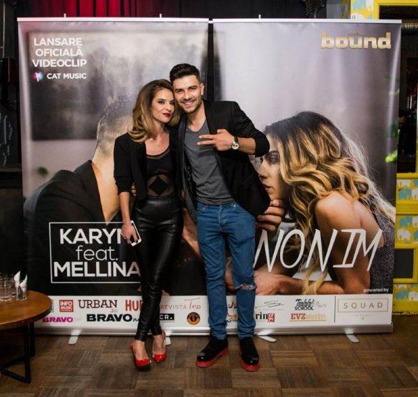 """Karym si Mellina - lansarea videoclipului """"Anonim"""""""