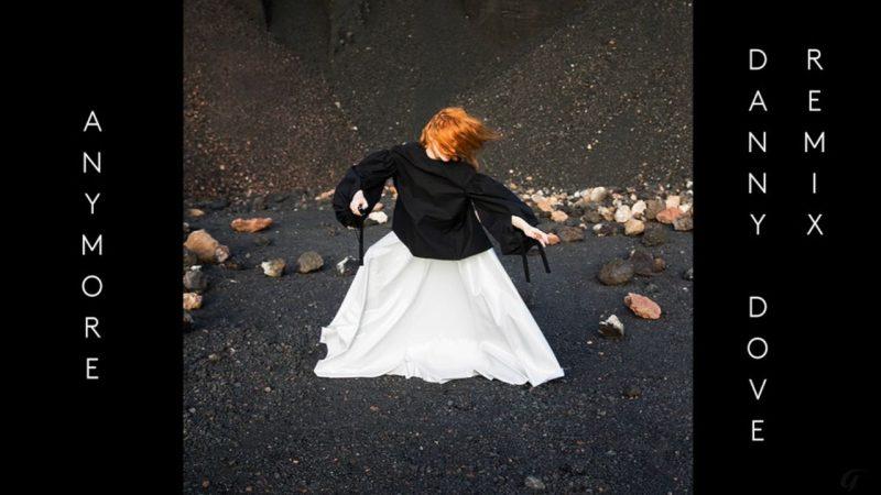 Coperta single Goldfrapp Anymore remix Danny Dove