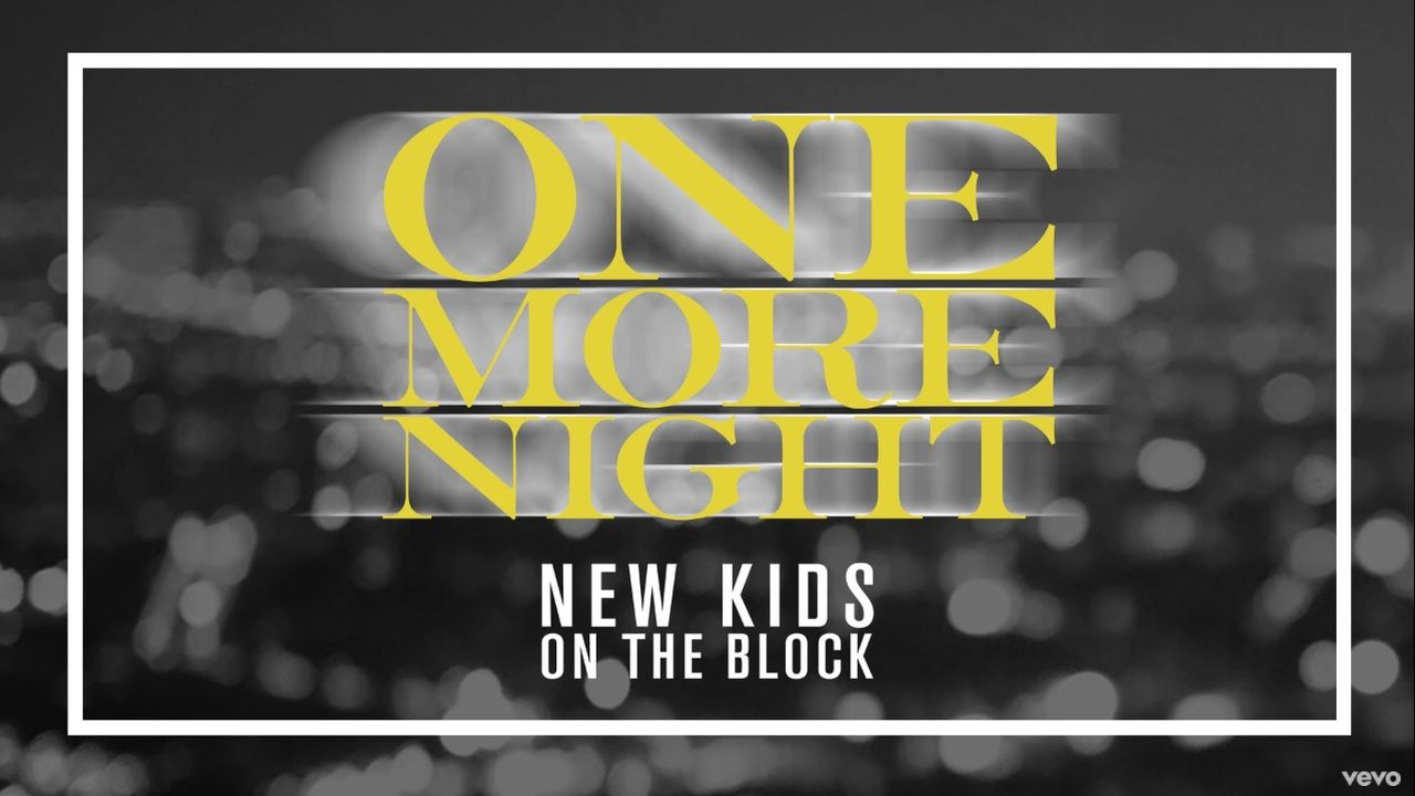 Coperta single New Kids On The Block One More Night
