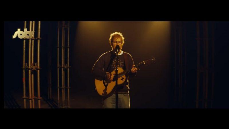 Ed Sheeran Eraser piesa live