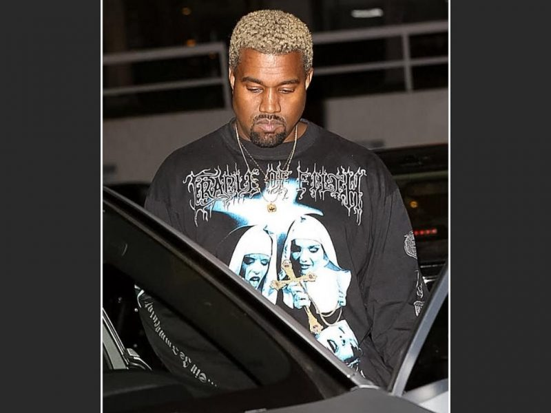Kanye West tricou Cradle of Filth