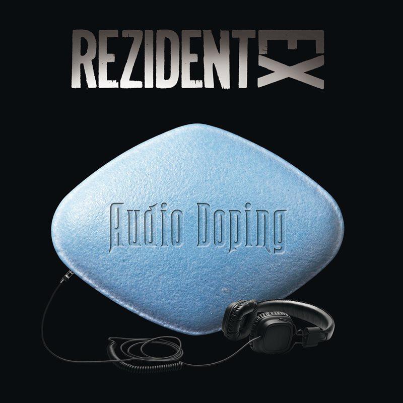 "Rezident EX - ""Audio Doping"" (copertă album)"