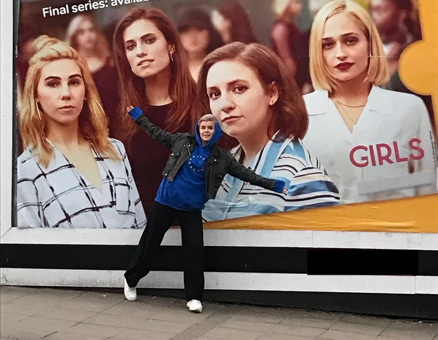 Robyn fotografie poster Girls HBO