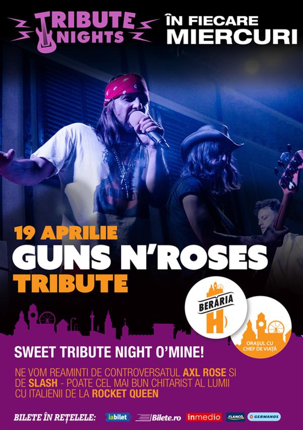 Guns N' Roses - Tribute la Berăria H