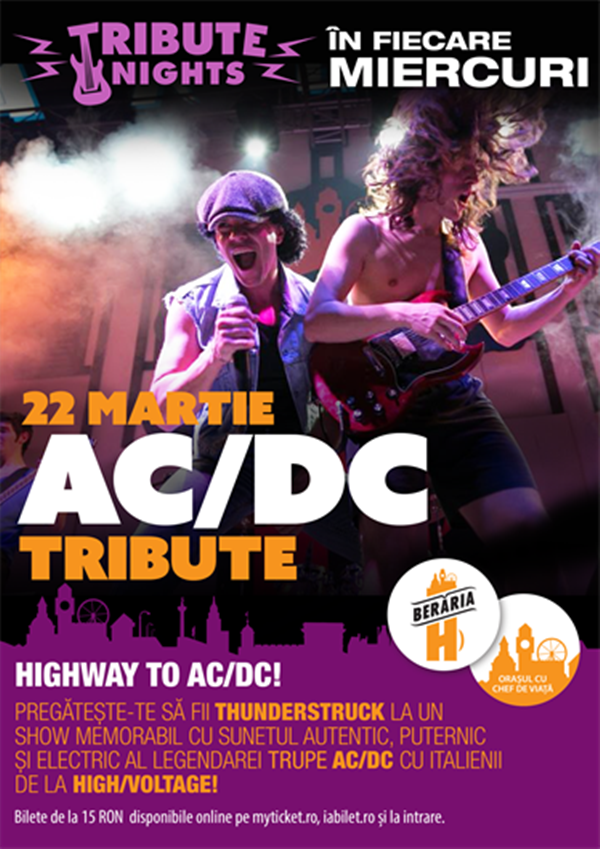 High/Voltage - AC/DC Tribute la Berăria H