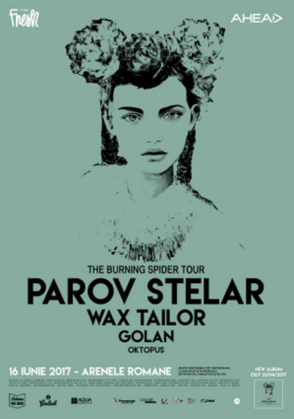 Parov Stelar - The Burning Spider Tour la Arenele Romane