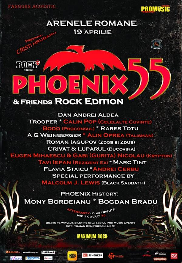 Phoenix 55 la Arenele Romane