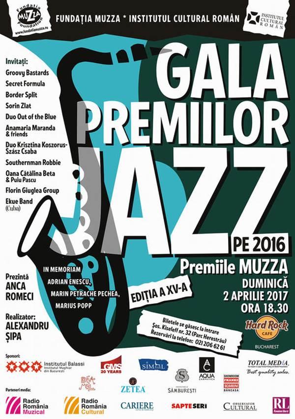 Gala Premiilor de Jazz la Hard Rock Cafe