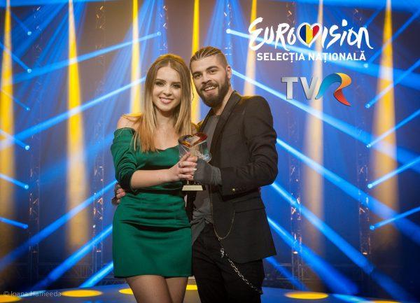 Ilinca Băcilă și Alex Florea, câștigătorii Selecției Naționale pentru Eurovision 2017